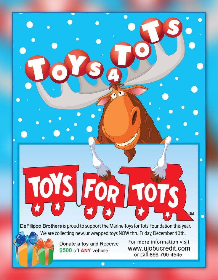 Toys For Tots Ideas : Toys for tots fundraiser donate a toy and receive