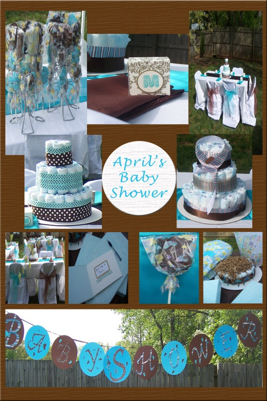 For Major!!  turquoise for baby shower