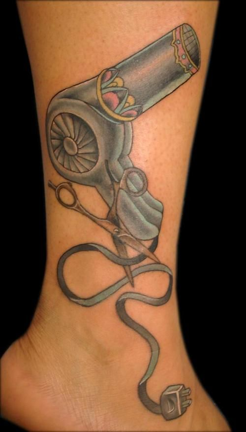 Hairdresser Tattoos   Amy tattoo Licious Honolulu Hawaii – Tattoo Picture at CheckoutMyInk ...