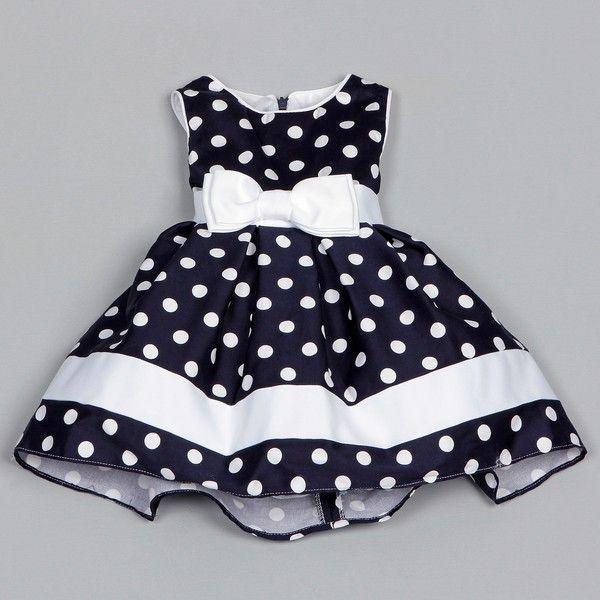 Dorissa Infant Girl's Dotty Polka Dot Dress | Overstock.com Shopping - The Best Deals on Girls' Dresses