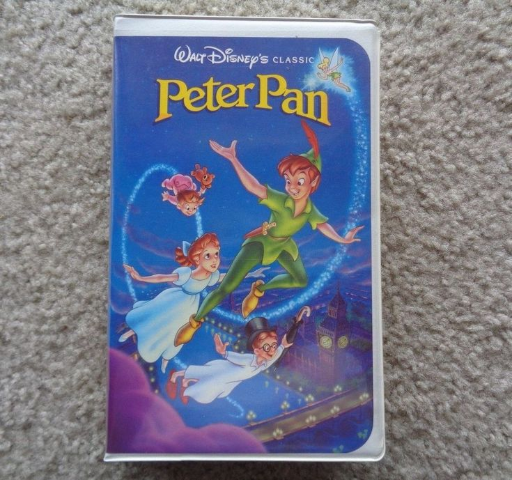 Disney's The Classic Peter Pan VHS