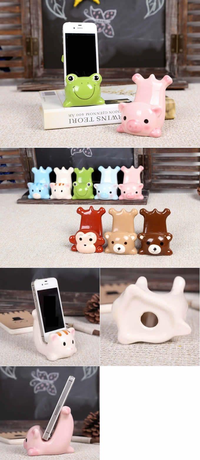 Ceramic Animal Smartphone Stand