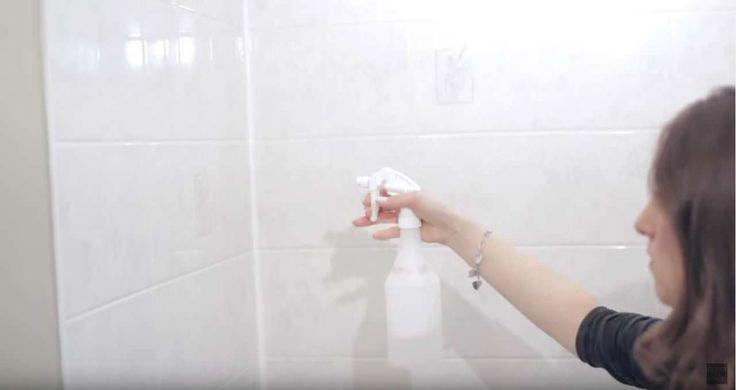 De douche schoonmaken was nog nooit zo effectief Als er nou iets in huis is dat je constant schoonmaakt, maar wat nooit lang sc...