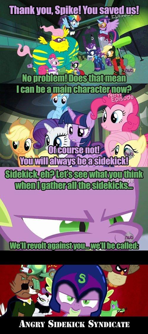 Sidekicks Unite!