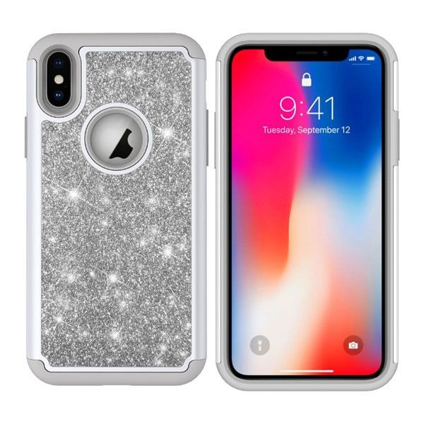 Best Protective Dual Layer Pink Sparkly Iphone Xr Phone Cases