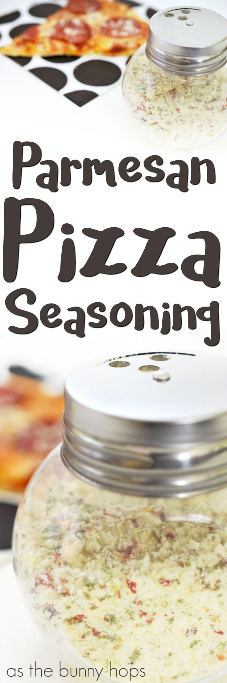 Want to step up your pizza game? Try this delicious parmesan pizza seasoning!