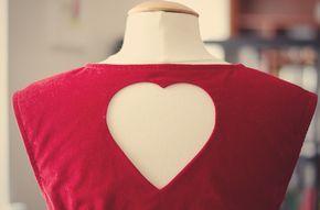 TUTO robe avec dos en coeur (transformationde Belladone de Deer and Doe) à confectionner en écoutant un livre audio