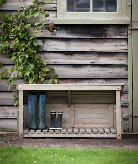 Front Door Bench With Storage: Best 25+ Outdoor Shoe Storage Ideas On Pinterest