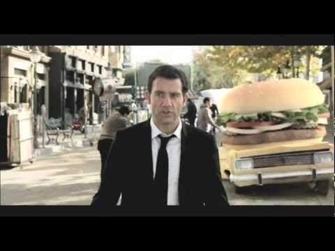 Burger King Spot Clive Owen