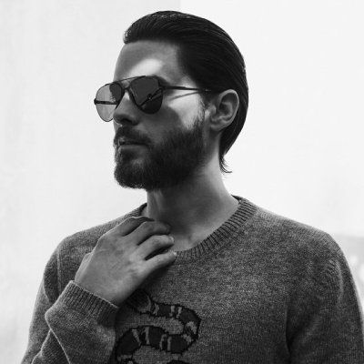 Jared Leto photographed by Van Mossevelde+N in 2016