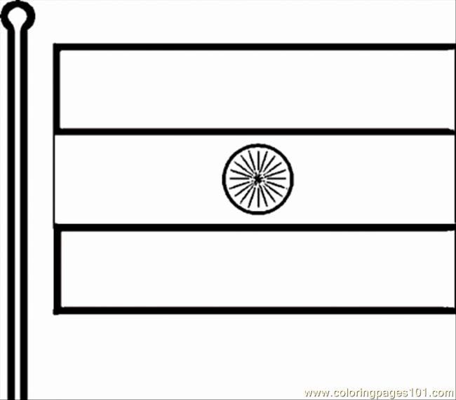 Indian Flag Pictures For Coloring