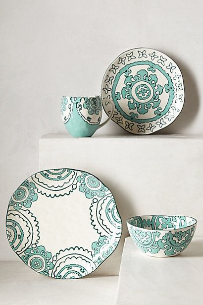 Gloriosa Dinner Plate - anthropologie.com
