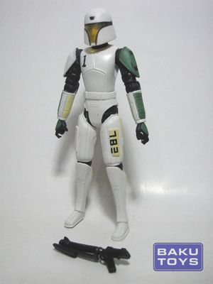 Star Wars 3.75 Clone Trooper Hevy in Training Armor TCW