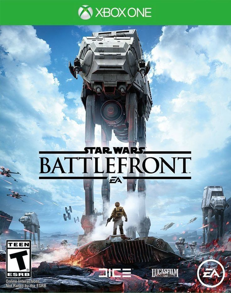 Star Wars: Battlefront - Standard Edition Xbox One Physical Game Disc US