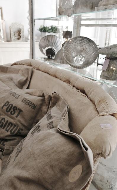 82 best Linen, burlap, vintage images on Pinterest Linens, Bedding - neue schlafzimmer look flou