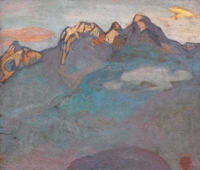 Loving Frederick Horsman Varley's 'Coast Mountain Form'...really beautiful
