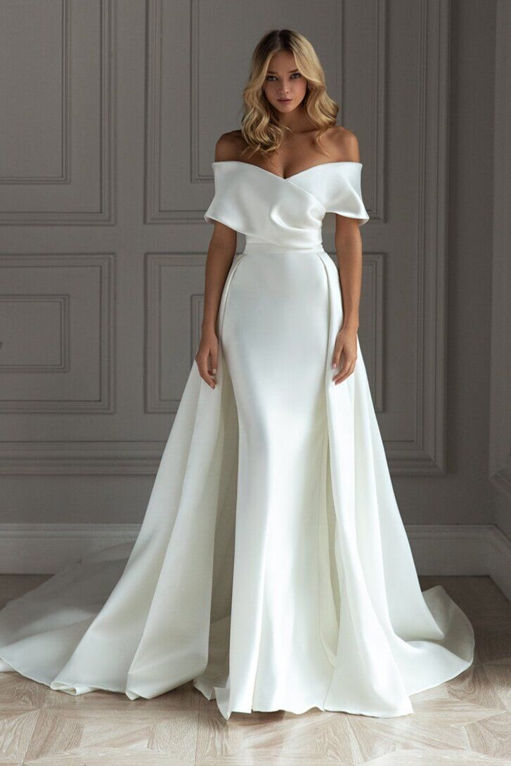Buy simple and chic wedding dresses> OFF 18