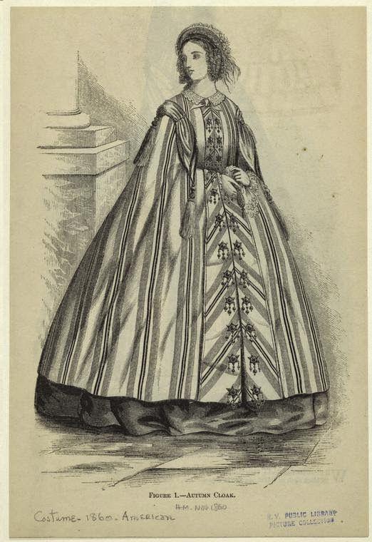 In the Swan's Shadow: Autumn Cloak. Harper's Magazine, November 1860.
