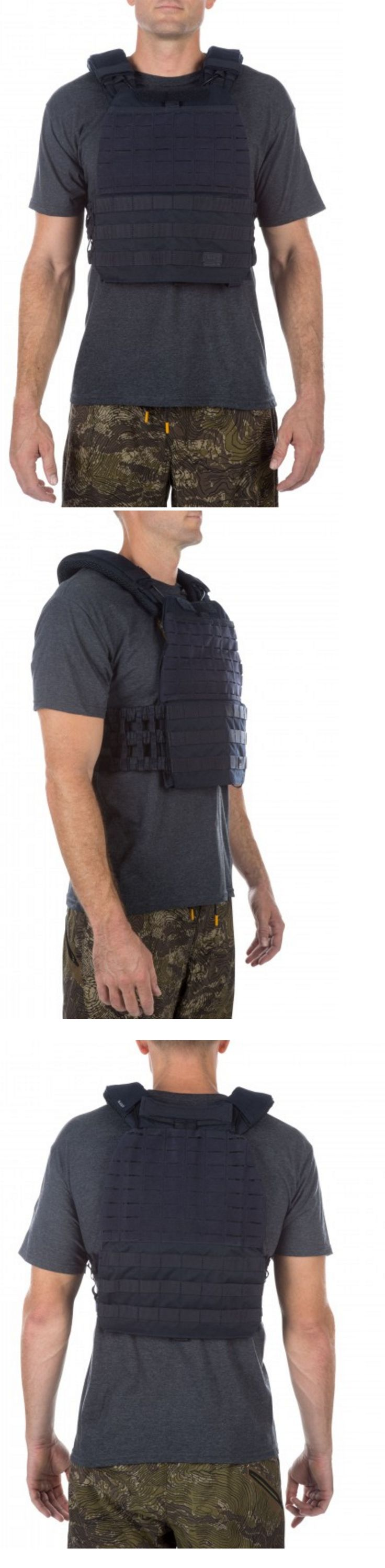 Chest Rigs and Tactical Vests 177891: 5.11 Tactical Tactec™ Plate Carrier Dark Navy Crossfit Airsoft Swat Police Vest -> BUY IT NOW ONLY: $180.49 on eBay!