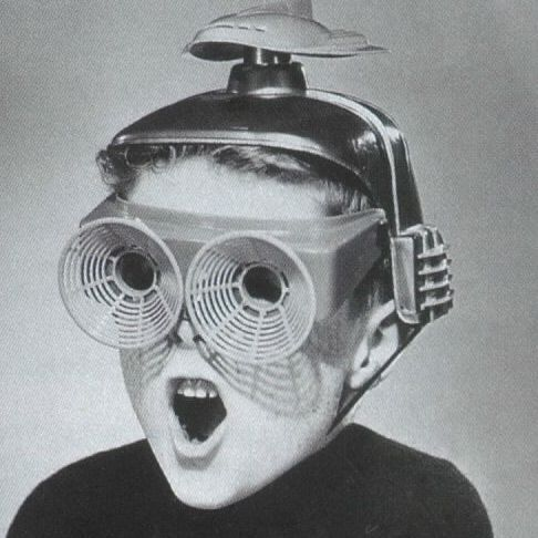Retro Futurism Inspiration - Theres an underground vacuum bullet tube thing that looks pretty swell. Also. These googles.