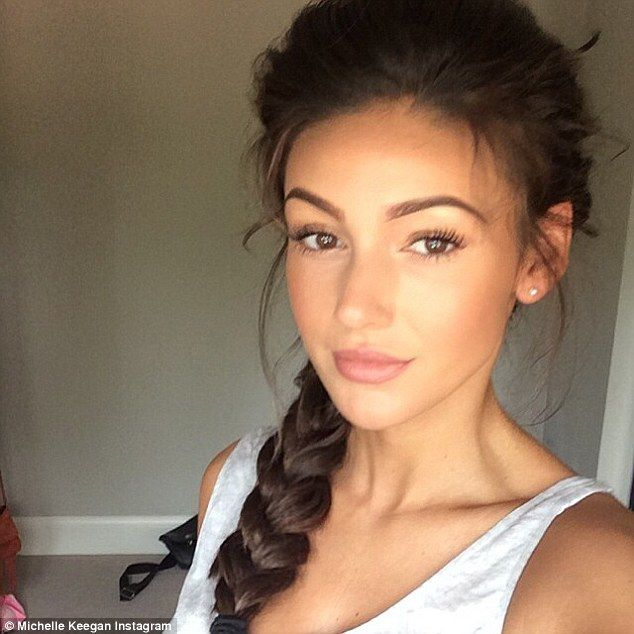 Updating fans: The 28-year-old actress, who recently tied the knot with Mark Wright, took ...