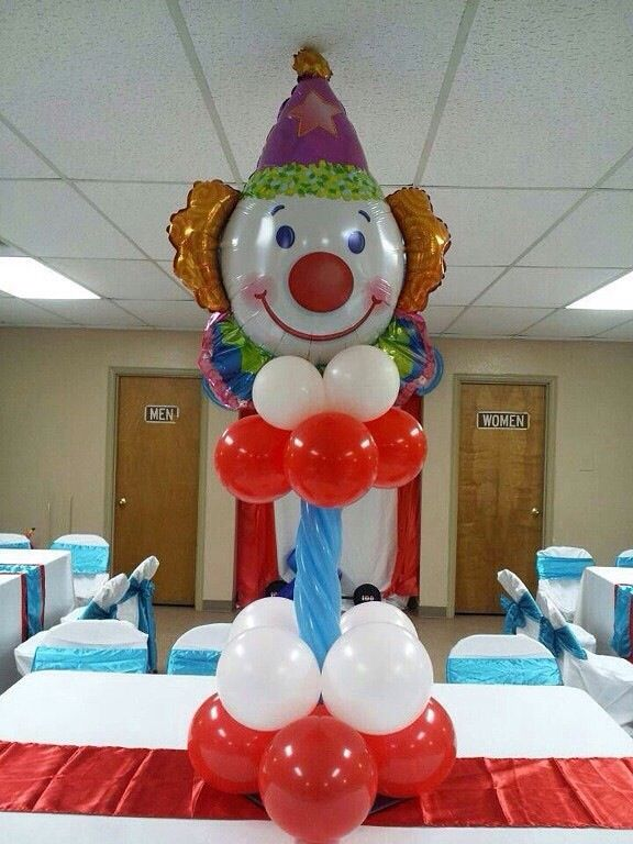 Best circus themed balloon decorations images on