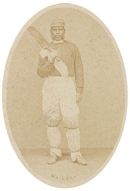Mullagh from Australian aboriginal cricketers, 1867 / by Patrick Dawson Format: Albumen photoprint . From the collections of the Mitchell Library, State Library of New South Wales.