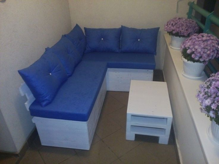 Pallet Sectional Sofa with Storage | Pallet Furniture