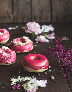 die besten 25 gebackene donuts ideen auf pinterest donut rezepte gebackene krapfen rezept. Black Bedroom Furniture Sets. Home Design Ideas