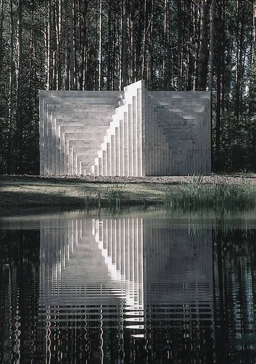 Sol LeWitt, Double Negative Pyramid, Lithuania