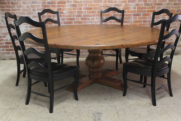 large round dining table on pinterest large dining room table round