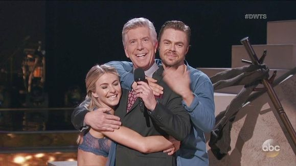 Derek and Julianne Hough's Move Beyond Performance Video   Dancing with the Stars