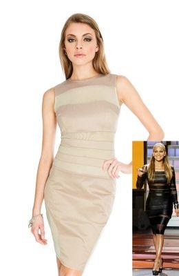 Elegantné party šaty inšpirované Jennifer Lopez