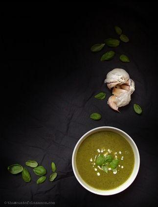 Recept voor Courgette soep zonder bouillon