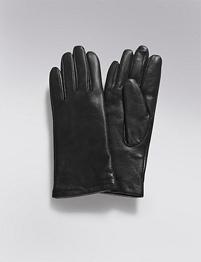 Leather Cashmere Lined Gloves | M&S £39.50