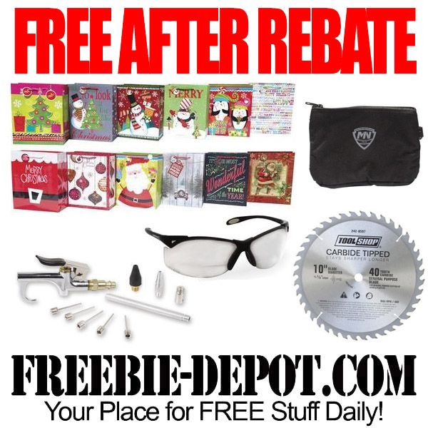 ►► FREE AFTER REBATE - Gift Bags, Blades, Pouches, Glasses & Kits - Exp 12/3/16 ►► #Free, #FreeAfterRebate, #FREEStuff, #FREEbate, #Freebie, #MenardS ►►