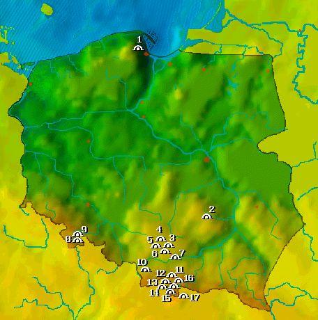 Jaskinie dla każdego: Jaskinie Turystyczne Polski: interaktywna mapa, 17 jaskiń, zdjęcia i opisy