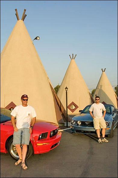 San Bernardino, California — Teepee Motel