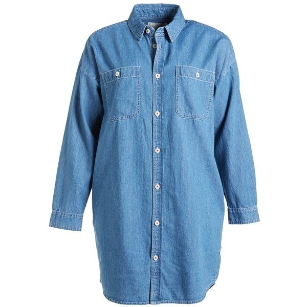 1000 ideas about denim shirt dresses on pinterest for Blue button up work shirt