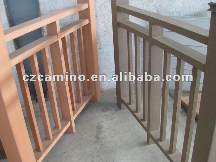 decorative wood deck railing designs