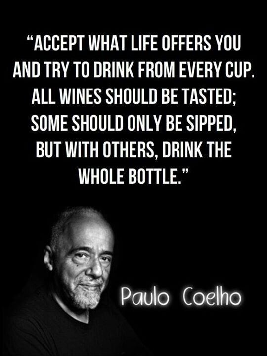 All wine should be tasted. Some should be sipped. But with others, drink the whole bottle.