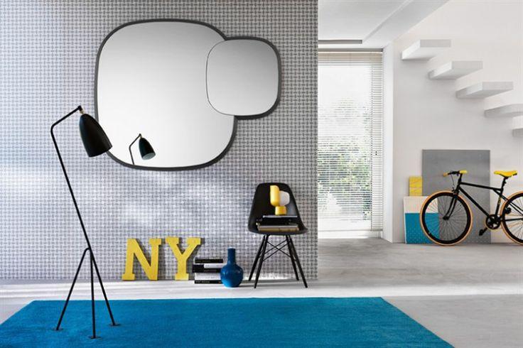 Design Spiegel ALTER EGO | FIAM | Italian design | GlazenDesignTafel.nl | Design by Paolo Cappello | Interior design | vidre glastoepassingen, Leiden