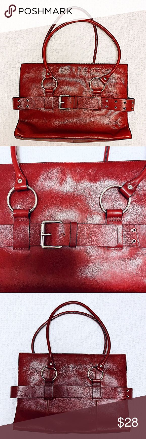Wilsons Leather Pelle Studio Briefcase Tote Bag Wilsons