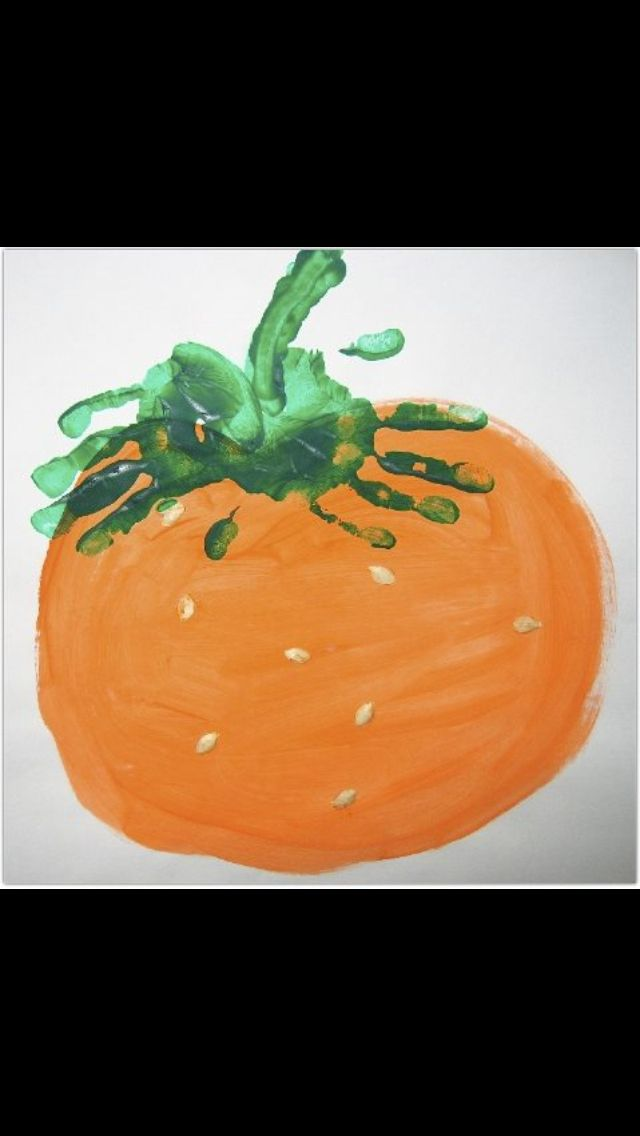 (No link) would be a cute fall craft for preschool!