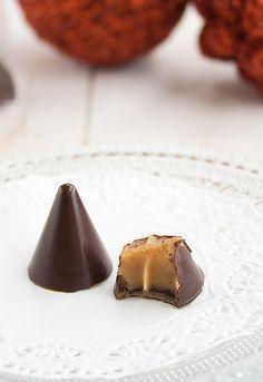 Regalos Navideños IV: Bombones rellenos de salsa de caramelo | Receta paso a paso | Unodedos.com