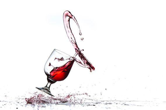 Nieuw in mijn Werk aan de Muur shop: Walsende wijn