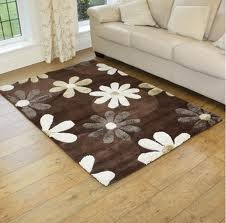 brown and white floor rugs - Google Search