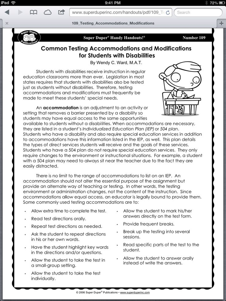 Common testing and modifications 3rd