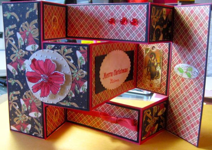 167 best images about tri fold shutter cards on pinterest