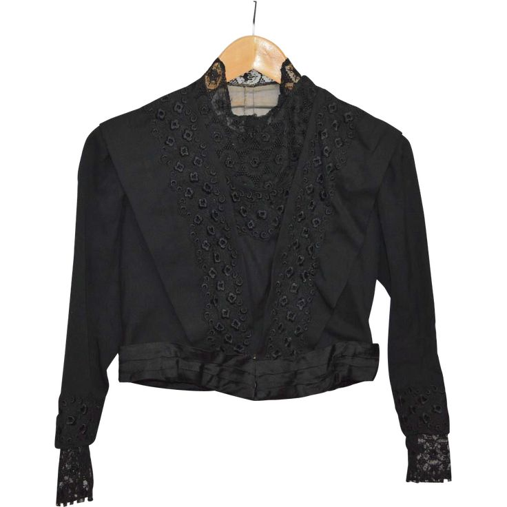 Victorian Black Ladies' Jacket